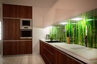 Fototapete in der Küche